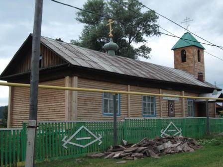 Храм преподобного Сергия Радонежского п.Инзер