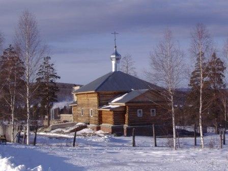 Храм в честь Новомучеников Российских г.Межгорье Татлы