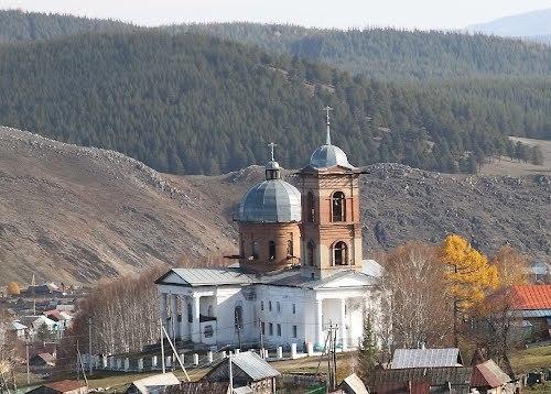 Храм Казанской иконы Божией Матери В.Авзян