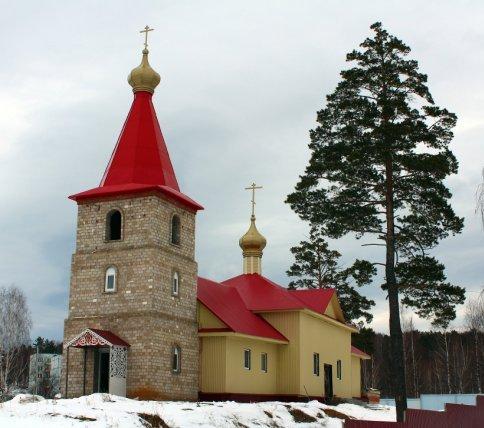 Храм Новомученников и Исповедников Российских п.Татлы