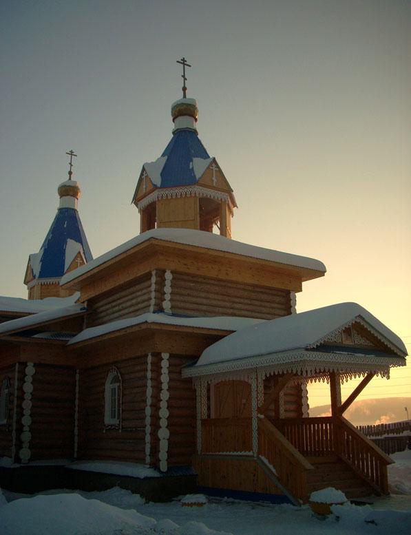 Храм иконы Божией Матери «Неопалимая Купина» с. Тирлян