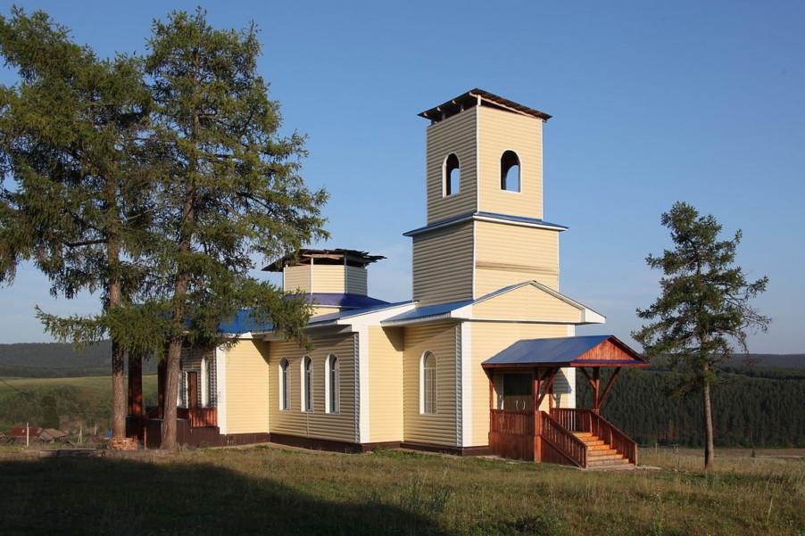 Храм Введения во храм Пресвятой Богородицы с. Нижний Авзян