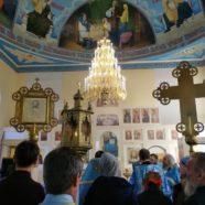 В Учалах прошла первая Божественная литургия в построенном храме Иконы Божией Матери «Скоропослушница»