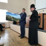 Состоялось вручение благодарственного письма протоиерею Петру Кулиничу