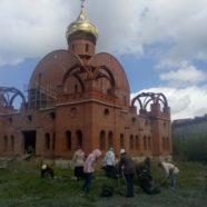 На территории Свято-Никольского собора г.Белорецк состоялся субботник