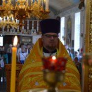Последняя литургия протоиерея Петра Кулинича, как благочинного и настоятеля белорецкого кафедрального собора в честь Святой Троицы.