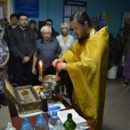 В Больничном городке г.Белорецка побывал ковчег с частицей мощей святителя ЛУКИ КРЫМСКОГО, исповедника