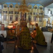 В Белорецке отслужили молебен с акафистом св. мч. Вонифатию и заупокойную литию по погибшим в Магнитогорске