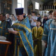В Свято-Троицком храме состоялся «чин молебного пения о сохранении творения Божия»