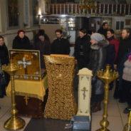 В Белорецкий Кафедральный Собор принесен ковчег с частью ризы Пресвятой Богородицы