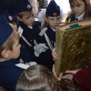 Встреча с кадетами в ВШ Свято-Троицкого храма г. Белорецк, посвященная православной книге.