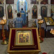Всенощное бдение и Божественная литургия на праздник Введения во храм Пресвятой Владычицы нашей Богородицы и Приснодевы Марии