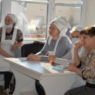 Обучающая встреча сестер милосердия с медицинскими работниками