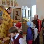 Богослужение благочинного 3-го,Белорецкого, благочиния протоиерея Петра Кулинича в г. Межгорье