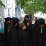 Архиерейское богослужение и собрание священноначалия епархии в г.Бирске