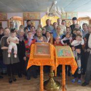 Божественная литургия в неделю о блудном сыне в храме священномученика Симона Уфимского с. Миндяк