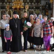 Анастасия Волочкова в Свято-Троицком храме города Белорецк