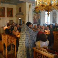 Праздник Благовещения Пресвятой Богородицы в Свято-Троицком соборном храме г.Белорецк