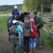 Состоялась конная поездка воскресной школы города Белорецк