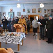 Благочинный посетил приход преподобного Сергия Радонежского с.Инзер