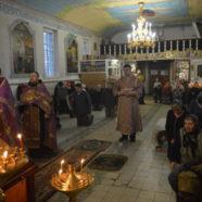 Крестопоклонная неделя в Свято-Троицком храме города Белорецк