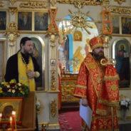 Епископ Спиридон совершил богослужение в Свято-Троицком соборном храме города Белорецка