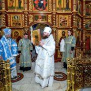 Первое Богослужение после хиротонии епископа Бирского и Белорецкого Спиридона в Белорецком благочинии