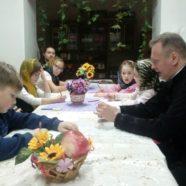 В Межгорье прошла встреча воспитанников воскресной школы с руководителями Молодежного отдела