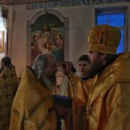 Епископ Спиридон совершил всенощное бдение в Свято-Троицком соборном храме города Белорецка