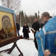 Крестный ход с Табынской иконой Божией Матери в Межгорье