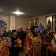 В преддверии Недели 37-й епископ Спиридон возглавил всенощное бдение в Богородичном храме города Межгорье