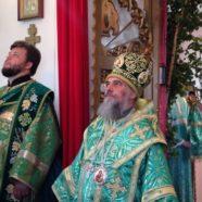 Служение митрополита НИКОНА накануне Дня СВЯТОЙ ТРОИЦЫ, ПЯТИДЕСЯТНИЦЫ в белорецком благочиние