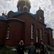 Митр.НИКОН осмотрел ход строительства нового храма в г.Учалы